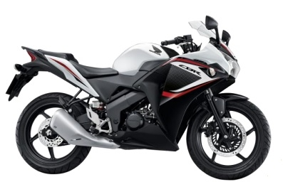 CBR150R White/Black Plastic Parts (NH196)
