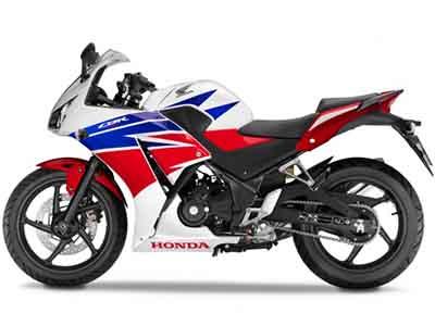Honda CBR300R Red/White Plastics