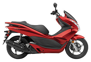 PCX Red Plastic Parts
