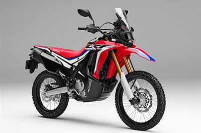CRF250F Rally Genuine Parts
