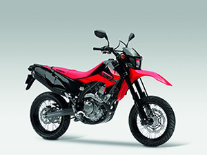Honda CRF250M - Extreme Red Genuine Parts